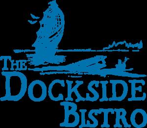 The Dockside Bistro Logo blue
